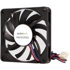 StarTech.com TX3 Dual Ball Bearing Replacement Fan - CPU Cooler fan - 70 mm - black - 70mm - 3500rpm 1 x Dual Ball Bearing