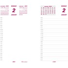 "Brownline Jumbo Calendar Pad Refill - Daily - 1 Year - January 2020 till December 2020 - 7:00 AM to 6:30 PM - 1 Day Double Page Layout - 6"" x 3 1/2"" Sheet Size - White - Paper - Reference Calendar - 50 / Each"