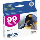 Epson Claria No. 99 Original Ink Cartridge - Inkjet - Magenta - 1 Each