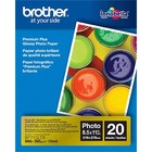 "Brother Innobella Inkjet Print Photo Paper - Letter - 8 1/2"" x 11"" - Glossy"