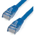 StarTech.com 2 ft Blue Molded Cat6 UTP Patch Cable - ETL Verified - Category 6 - 2 ft - 1 x RJ-45 Male - 1 x RJ-45 Male - Blue