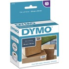 """Dymo LabelWriter Small Multipurpose Labels - 1"""" Width x 2 1/8"""" Length - Direct Thermal - White - 500 / Roll - 500 / Roll"""