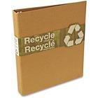 "Wilson Jones Recycled Round Ring Binder - 1"" Binder Capacity - Letter - 8 1/2"" x 11"" Sheet Size - 175 Sheet Capacity - 3 x Round Ring Fastener(s) - Brown Kraft - Recycled - 1 Each"