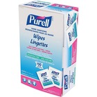 "PURELL® Sanitizing Hand Wipe - 5"" x 7"" - For Healthcare - 100 / Box"