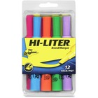 Avery® Hi-Liter Desk Style Highlighter - Chisel Marker Point Style - Assorted - 12 / Pack