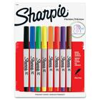 Sharpie Permanent Ultra Fine Point Marker - Ultra Fine Marker Point - Assorted - 8 / Pack