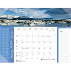 Blueline Image Collection World Panorama Desk Pad