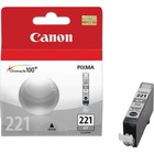 Canon CLI-221GY Original Ink Cartridge - Inkjet - 510 Pages - Gray - 1 Each