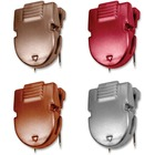 """Advantus Diesel Color Panel Wall Clips - 1.38"""" (34.92 mm) Length x 1"""" (25.40 mm) Width - 40 Sheet Capacity - 20 / Box - Assorted"""