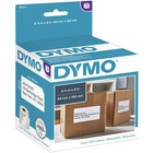 """Dymo LW Shipping Labels - 2 1/10"""" Width x 4"""" Length - Rectangle - White - 220 / Roll"""