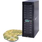 Kanguru 11 Target, 24x DVD Duplicator with Internal Hard Drive - StandaloneDVD-Writer - 24x DVD+R, 24x DVD-R, 12x DVD+R, 12x DVD-R, 52x CD-R - 22x DVD+R/RW, 22x DVD-R/RW - USB - 52 CD Read/52 CD Write - 18 DVD Read/24 DVD Write/22 DVD Rewrite - USB - TAA