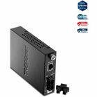 TRENDnet Intelligent 1000Base-T to 1000Base-SX Multi-Mode Fiber Converter - 1 x RJ-45 , 1 x SC - 1000Base-T, 1000Base-SX