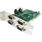 StarTech.com 4 Port PCI RS232 Serial adapter card - PCI - serial - 4 ports - Serial adapter - PCI - RS-232 x 4