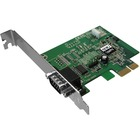 SIIG CyberSerial 1-port PCI Express Serial Adapter - Plug-in Card - PCI Express x1 - PC