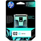 HP 2 Original Ink Cartridge - Single Pack - Inkjet - 240 Pages - Light Cyan - 1 Each