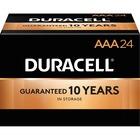 Duracell Coppertop Alkaline AAA Battery - MN2400 - 1150 mAh - AAA - Alkaline - 1.5 V DC - 24 / Box