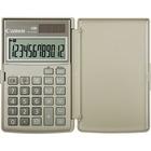 "Canon LS154TG Handheld Calculator - 12 Digits - LCD - Battery/Solar Powered - 0.4"" x 4.8"" x 3.1"" - Ebony - Plastic - 1 / Each"