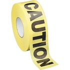Sparco Caution Barricade Tape - 1000 ft (304800 mm) Yellow - Black