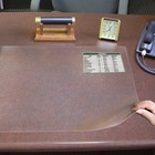 """Artistic Second Sight Clear Desk Protectors - Rectangle - 24"""" (609.60 mm) Width - Plastic - Clear"""