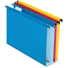 "Pendaflex SureHook Reinforced Hanging Folder - 2"" Folder Capacity - Legal - 8 1/2"" x 14"" Sheet Size - Blue, Red, Yellow, Bright Green, Orange - Recycled - 20 / Box"