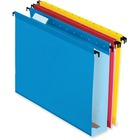 "Pendaflex SureHook Reinforced Hanging Folder - 2"" Folder Capacity - Letter - 8 1/2"" x 11"" Sheet Size - Blue, Red, Yellow, Bright Green, Orange - Recycled - 20 / Box"
