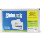 "Winnable Slidelock Zip Envelope - Legal - 8 1/2"" x 14"" Sheet Size - 1 1/4"" Expansion - Poly - Clear - 1 Each"