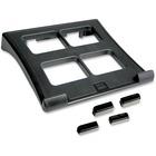 "First Base 02177 Ergonomic Laptop Stand - 2"" (50.80 mm) Height x 13"" (330.20 mm) Width x 11.50"" (292.10 mm) Depth - Black"