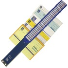 "C-Line Heavy-duty Document Sorter - 31 x Divider(s) - Printed Tab(s) - Character/Digit/Month/Weekday - A-Z, 0-31, 1-2000, January-December, Sunday-Saturday - 8.50"" Divider Width x 11"" Divider Length - Letter - Blue Pressboard Divider - Metal Tab(s) - 1 Ea"