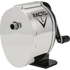 X-Acto Model L Standard Pencil Sharpener - Desktop - 1 Hole(s) - Silver