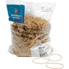 """Business Source Quality Rubber Bands - Size: #16 - 2.50"""" (63.50 mm) Length x 62.50 mil (1.59 mm) Width - Sustainable - 1800 / Pack - Rubber - Crepe"""