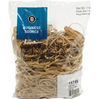 Business Source Quality Rubber Bands - Size: Assorted - Sustainable - 1 Pack - Rubber - Crepe