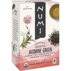 Numi Jasmine Green Organic Tea - Green Tea - Jasmine Green - 18 Teabag - 18 / Box