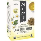 Numi Chamomile Lemon Organic Tea - Herbal Tea - Chamomile Lemon - 18 Teabag - 18 / Box