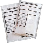 "MMF Transmittal Bags - 6"" (152.40 mm) Width x 9"" (228.60 mm) Length x 2.75 mil (70 Micron) Thickness - Clear - Polyethylene - 500/Box - Coupon, Jewelry, Gift Certificate, Receipt, Check, Coin, Currency"