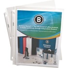"""Business Source Top-Loading Poly Sheet Protectors - 0"""" Thickness - For Letter 8 1/2"""" x 11"""" Sheet - Rectangular - Clear - Polypropylene - 50 / Pack"""
