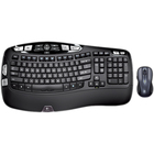 Logitech Wireless Wave Combo MK550 Keyboard and Mouse - USB Wireless RF Keyboard - French - USB Wireless RF Mouse - Laser