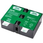 APC by Schneider Electric APCRBC124 UPS Replacement Battery Cartridge # 124 - Sealed Lead Acid (SLA) - Hot Swappable - 3 Year Minimum Battery Life - 5 Year Maximum Battery Life