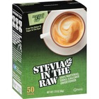 Stevia In The Raw Sweetener Packets - Stevia Flavor - Natural Sweetener - 50/Box
