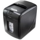 Swingline EX100-07 Personal AutoFeed Shredder - Cross Cut - 100 Per Pass - for shredding Paper, Paper Clip, Staples, Credit Card - 1.52 m/min - 26.50 L Wastebin Capacity - Black, Silver