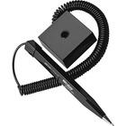 Wedgy Square Holder Secure Pen - Fine Pen Point - Refillable - Black - Black Barrel - 1 / Each