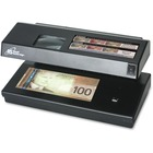 Royal Sovereign RCD-2000 Portable 4-Way Counterfeit Detector - Ultraviolet, Magnetic Ink, Watermark, Micro Printing - Black - 1 Each