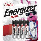 Energizer Multipurpose Battery - For Multipurpose - AAA - 1.5 V DC - Alkaline Manganese Dioxide - 8 / Pack