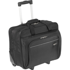 "Targus TBR003CA Travel/Luggage Case (Roller) for 16"" Notebook - Black - Water Resistant - Polyester - Handle - 14"" (355.60 mm) Height x 16.50"" (419.10 mm) Width x 7.50"" (190.50 mm) Depth"