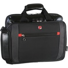 """Holiday SWA0586 Carrying Case (Briefcase) for 15.6"""" Notebook - Black - Handle, Shoulder Strap - 12"""" (304.80 mm) Height x 15"""" (381 mm) Width x 3.50"""" (88.90 mm) Depth"""