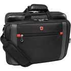 """Holiday SWA0586L Carrying Case for 17"""" Notebook - Black - Handle, Shoulder Strap - 14"""" (355.60 mm) Height x 17.75"""" (450.85 mm) Width x 2.75"""" (69.85 mm) Depth"""