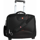 """Holiday SWA0568 Carrying Case (Roller) for 17"""" Notebook - Black - Handle, Shoulder Strap - 14.50"""" (368.30 mm) Height x 17.50"""" (444.50 mm) Width"""