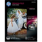 "HP Premier Plus Inkjet Print Photo Paper - Letter - 8 1/2"" x 11"" - 80 lb Basis Weight - Soft Gloss - 1 / Pack - White"