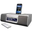 iHome Clock Radio - 6 W RMS - Stereo - Apple Dock Interface - Proprietary Interface