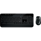 Microsoft Wireless Desktop 2000 Keyboard & Mouse - USB Wireless RF Keyboard - 104 Key - English (Canada) - USB Wireless RF Mouse - BlueTrack - 1000 dpi - 3 Button - Tilt Wheel - Symmetrical (PC, Mac)