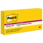 Post-it&reg Super Sticky Full Adhesive Notes